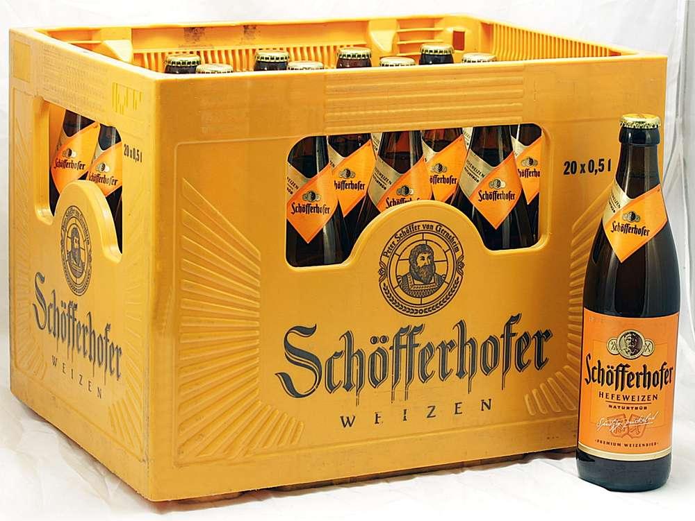 Schöfferhofer Weizen 05ltrkasten