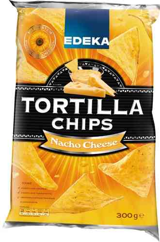 "Edeka Tortilla ""Nacho Cheese"" 300gr."