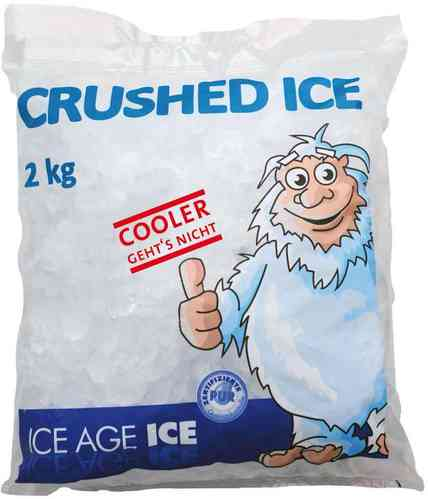 Crushed Ice 2kg Beutel