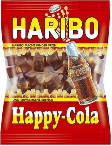 Haribo Happy Cola 200gr-Beutel